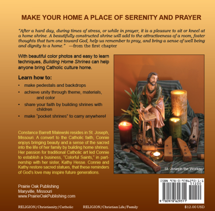 Building Home Shrines back cover